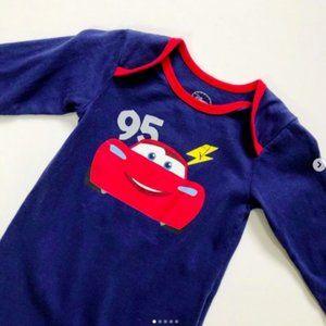 Disney Lightning McQueen 95 Onesie 0-6 mos
